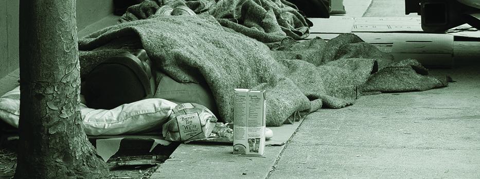 dormire per terra