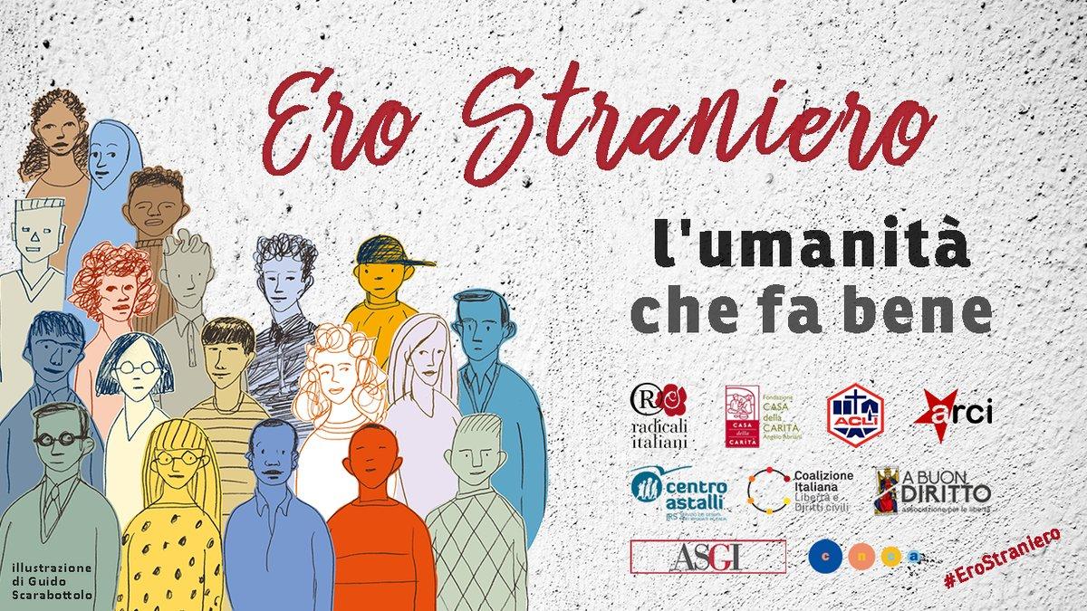 firma ero straniero l'umanità che fa bene roma saluzzo migrante