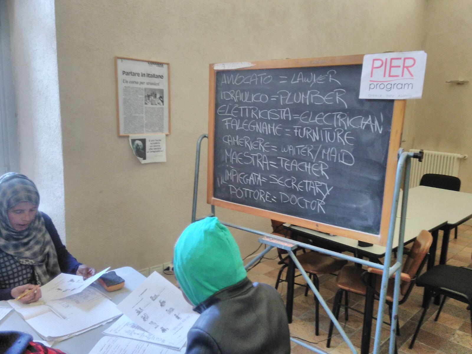 Il progetto PIER - Protection, Integration and Education for Refugees, finanziato dalla Coca Cola Foundation, coinvolge tre 3 partner nazionali Saluzzo Cuneo Italia