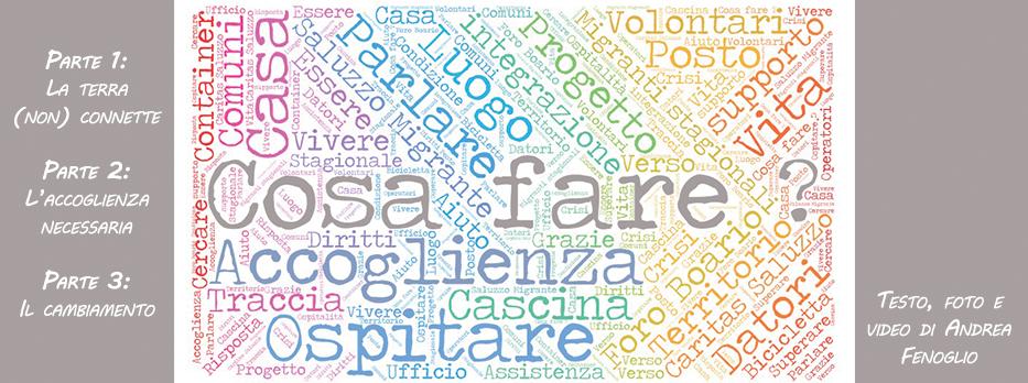 Cosa fare Andrea Fenoglio Saluzzo Migrante Caritas Saluzzo Storie