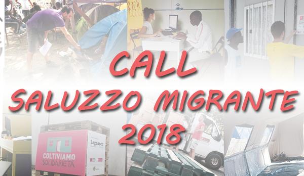 CALL VOLONTARI saluzzo migrante caritas italiana progetto presidio