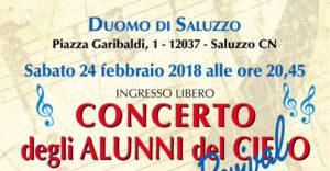 Concerto alunni del cielo copertina duomo di saluzzo corridoi umanitari saluzzo migrante