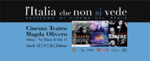 L'Italia che non si vede rassegna di cinema a teatro saluzzo migrante 2018