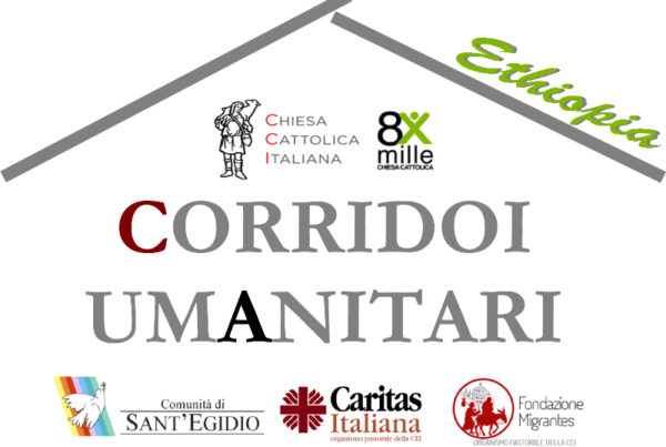 logo CORRIDOIO UMANITARIO_ethiopia def caritas saluzzo migrante 2018