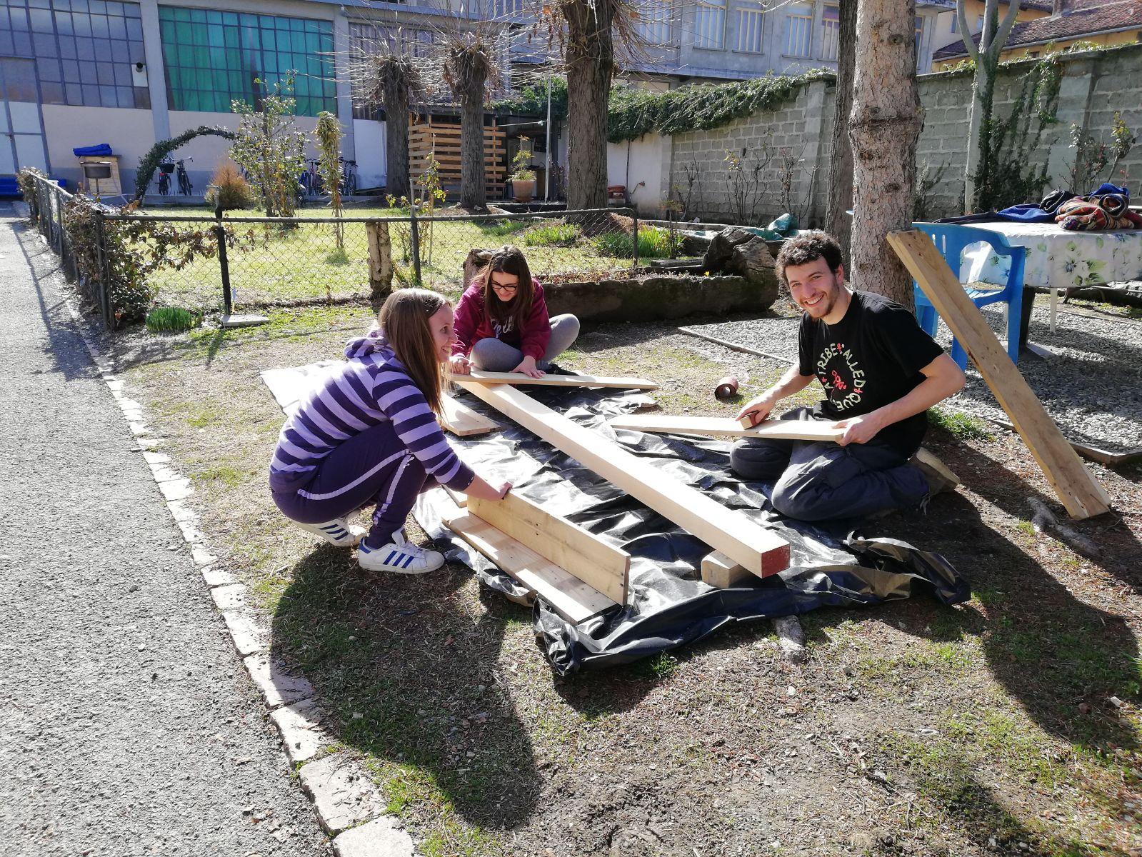 21 marzo installazioni saluzzo migrante