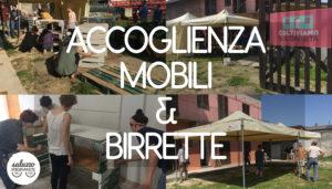 saluzzo migrante 24 aprile accoglienza mobili birrette