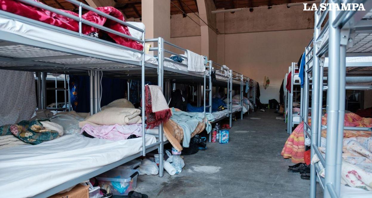 Dormitorio PAS Saluzzo Prima Accoglienza Stagionali Saluzzo Migrante Caritas Saluzzo Progetto Presidio