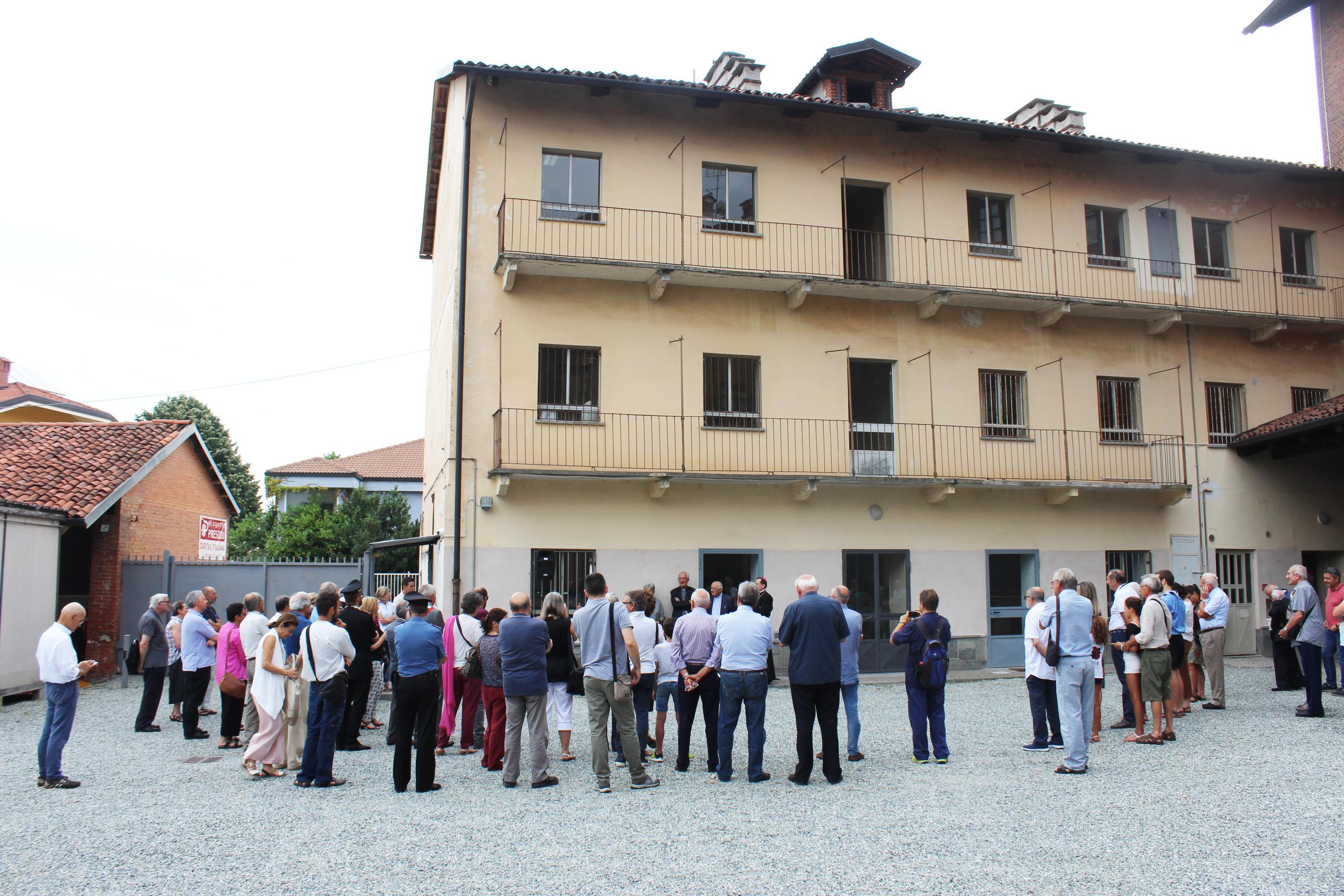 Casa Madre Teresa primi ospiti saluzzo migrante progetto presidio diocesi di saluzzo migranti