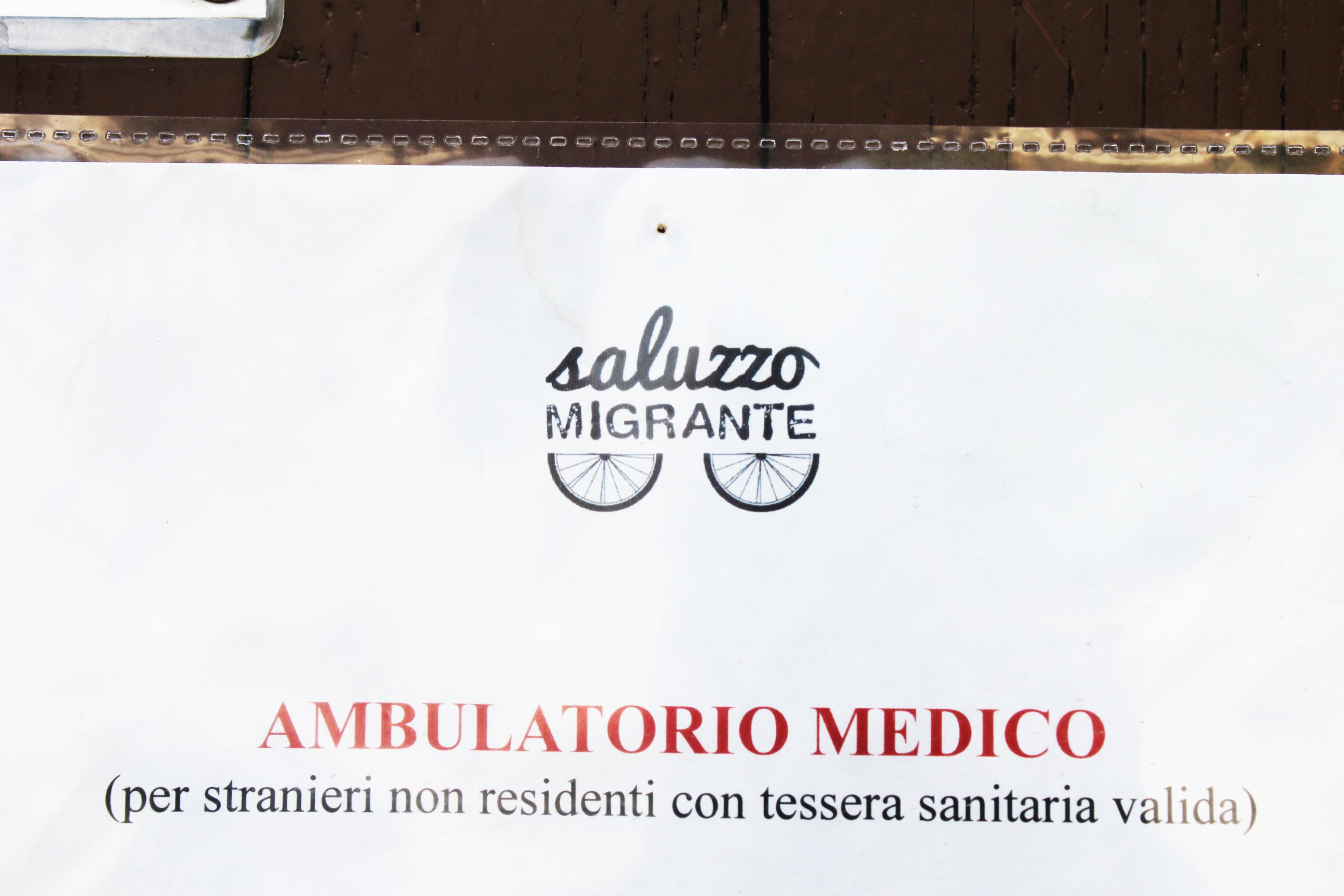 Sportello santiario ambulatorio medico saluzzo migrante progetto presidio migranti