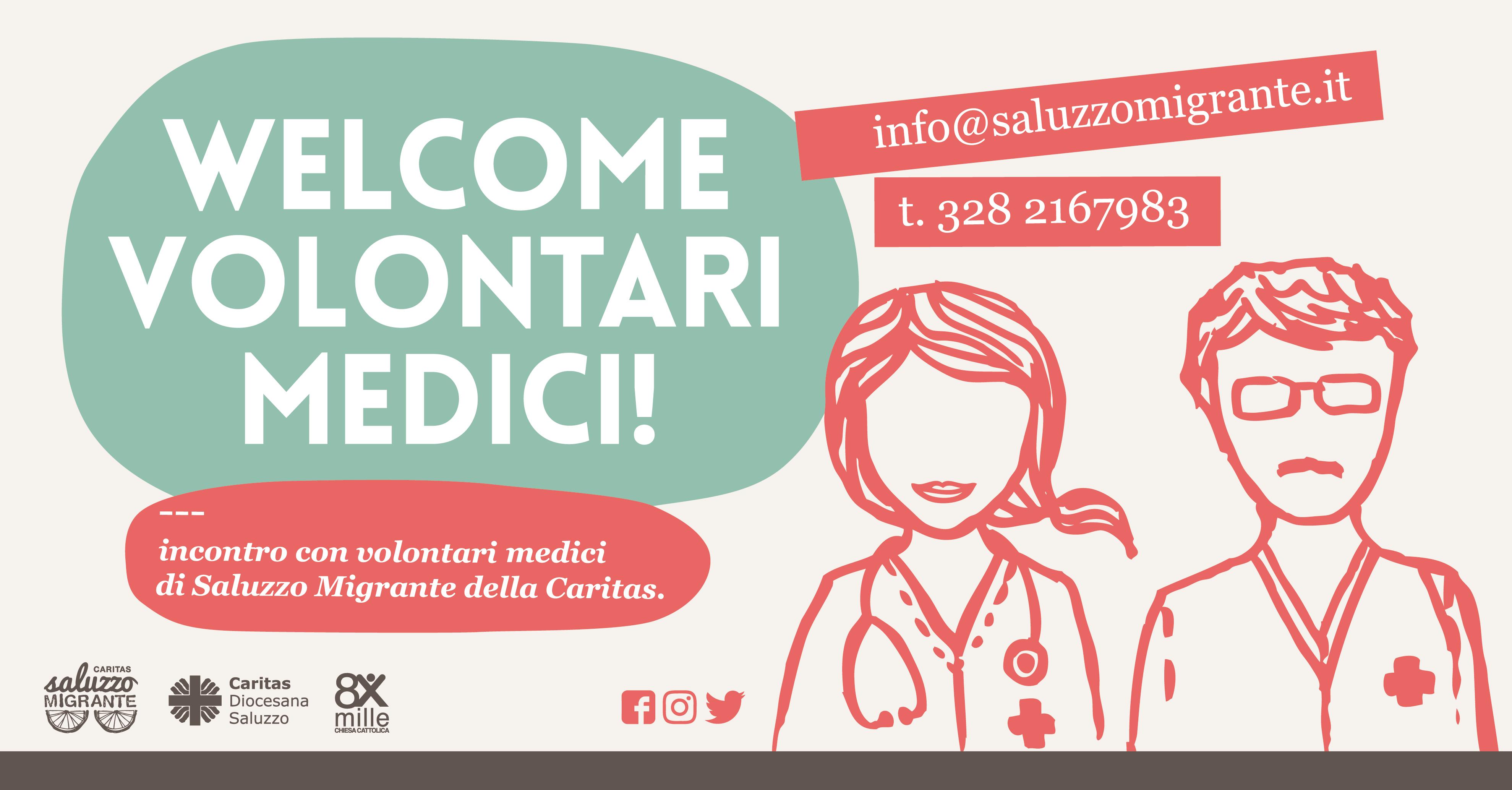 welcome volontari medici generica