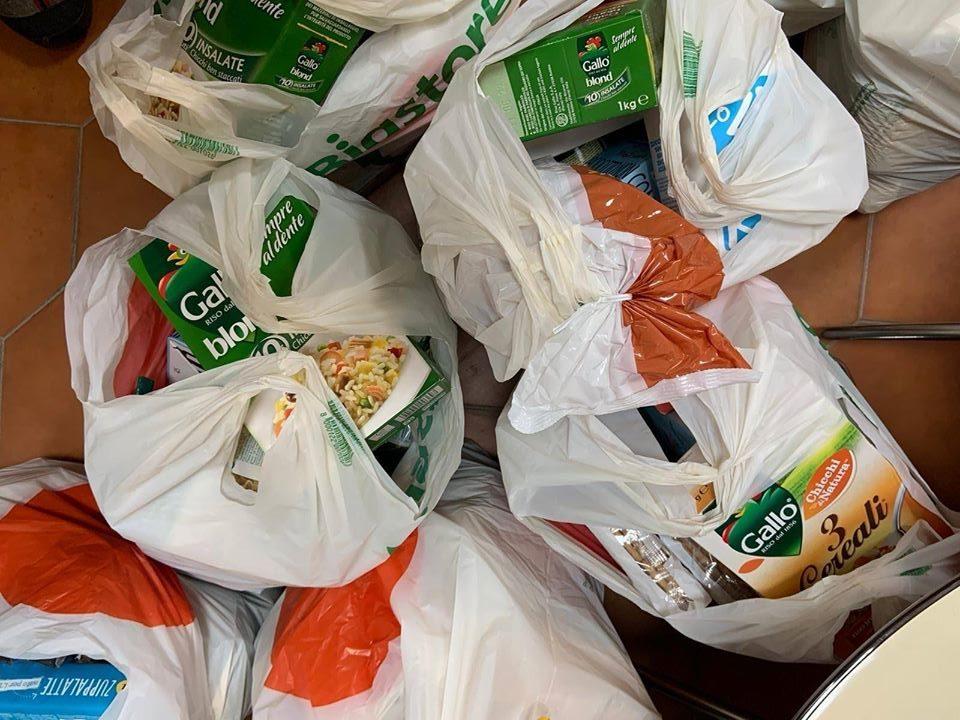 Anche Caritas partecipa alla colletta alimentare